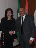 Ricevuto il Presidente del Parlamento dell'Albania