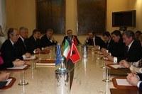Relazioni internazionali, Formigoni incontra Corea, Albania e Slovenia