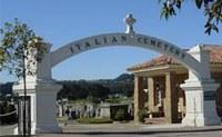 Il cimitero italiano di Colma, California