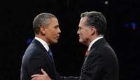 Il dibattito televisivo tra Obama e Romney