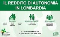 Lombardia:  Reddito di autonomia 2016