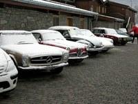 Le auto d'epoca fanno tappa a Mantello