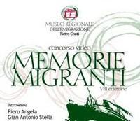 """VIII Edizione del Concorso Video """"Memorie Migranti"""""""