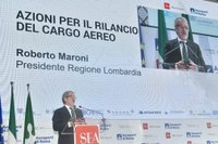 Cargo aereo, Maroni: confermo impegno Regione