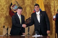 Ecuador e Colombia rafforzano le relazioni