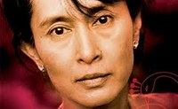 """San Suu Kyi is an example of human rights and democracy, as Tymoshenko and Politkovskaya"" - Cazzulani (Filitalia)"