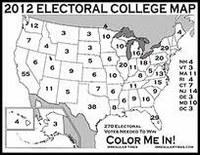 Campagna presidenziale americana: i voti elettorali