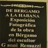 Un artista bergamasco a Cuba