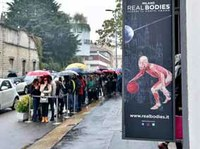 Mostra «Real Bodies», epidemia  di svenimenti: arriva l'infermeria