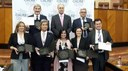 """Menzione speciale """"Calre Awards–Stelle d'Europa"""" al Consiglio Regionale della Lombardia."""