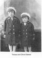 Olivia e Teresa Dalessi, San Rafael, California