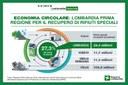 Economia circolare: Lombardia prima regione per recupero di rifiuti speciali