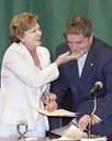 La moglie di Lula riceve la cittadinanza italiana