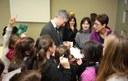 Scuole in visita: 67 alunni e 5 insegnanti della Scuola primaria di Longone al Segrino (CO) ricevuti in Consiglio regionale dal Presidente Alessandro Fermi