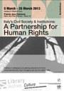 L'Italia per i diritti umani, in mostra a Ginevra