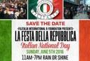 Save The Date! La Festa della Repubblica 2016, Philadelphia. (ENG)