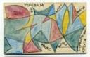 Con i Futuristi, anche il francobollo diventa arte