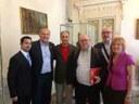 Filitalia Fonder Nestico met Cremona mayor and lute masters